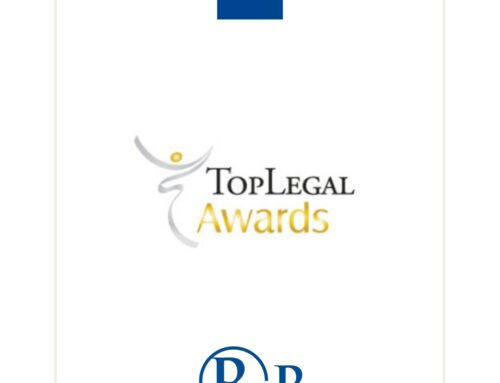 R&P Legal finalista ai Legal Awards 2020