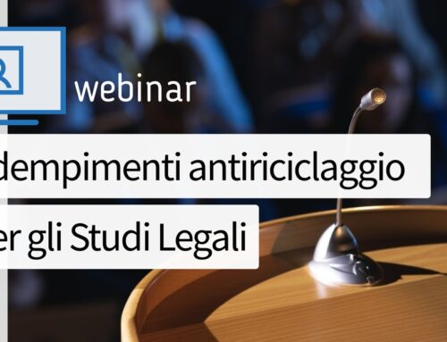 R&P Legal con Asla in un webinar antiriciclaggio