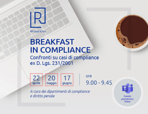 "Ciclo webinar – ""Breakfast in Compliance"""