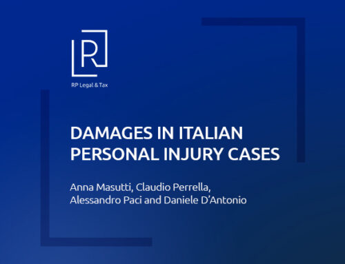Damages in Italian personal injury cases