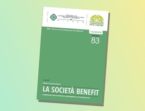 """Quaderno dell'ODCEC di Milano N° 83 – """"LA SOCIETÀ BENEFIT"""""""