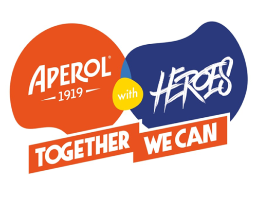 Aperol with Heroes – Together we can